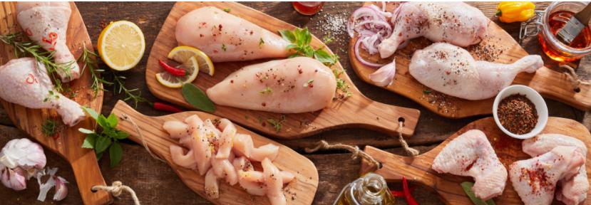 Các món chế biến từ thịt gà